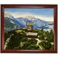 Persailhorn am Steinernen Meer, handgemaltes Ölbild in 50x60cm