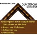 Bilderrahmen S10 Goldbraun F50x60cm