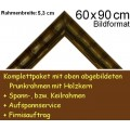 Bilderrahmen S10 D-Grün F60x90cm