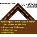Bilderrahmen S10 Goldbraun F60x90cm