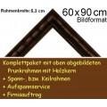 Bilderrahmen S10 Dunkelbraun F60x90cm