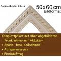 Bilderrahmen S11 Weiß F50x60cm