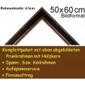 Bilderrahmen S12 Dunkelbraun F50x60cm