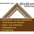 Bilderrahmen S13 Weiß F60x90cm