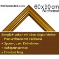 Bilderrahmen S15 Gold F60x90cm