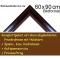 Bilderrahmen S15 Dunkelbraun F60x90cm