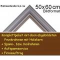 Bilderrahmen S15 Silbergrau F50x60cm