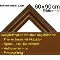 Bilderrahmen S18 Braun-Grau F60x90cm