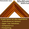 Bilderrahmen S19 in Gold-Braun F50x60cm