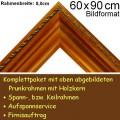 Bilderrahmen S19 Gold-Braun F60x90cm